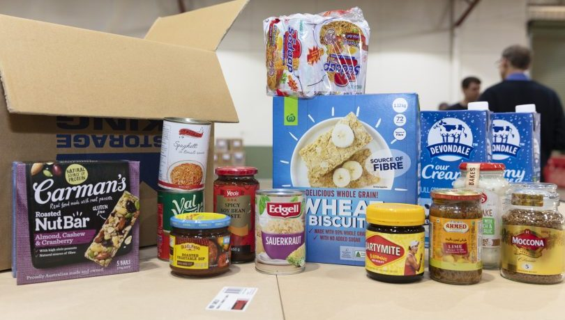 Free food and essential items for Canberrans in need during lockdown